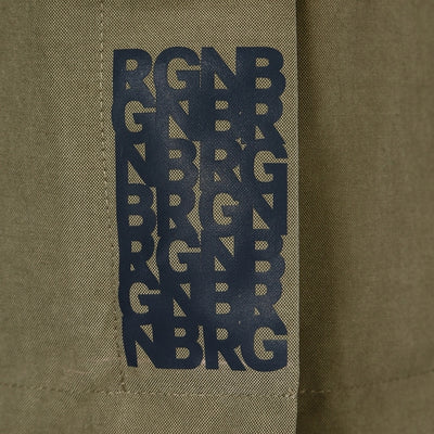 BRGN by Lunde & Gaundal Skur Parkas Coats 850 Green Herb