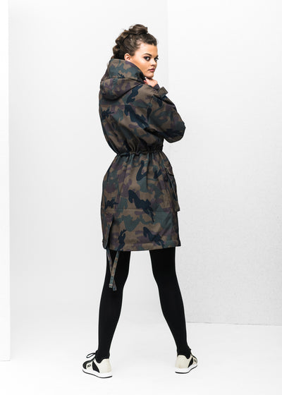 BRGN by Lunde & Gaundal Skur Parkas Coats 988 Camo Print