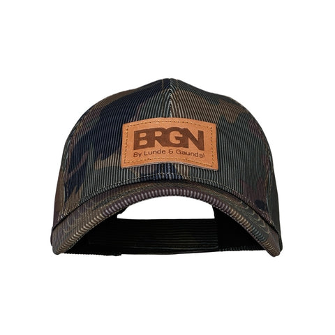 BRGN by Lunde & Gaundal Solregn caps Accessories 988 Camo Print