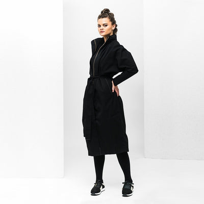 BRGN by Lunde & Gaundal Storm Coat Coats 095 New Black