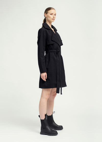 BRGN by Lunde & Gaundal Yr Coat Coats 095 New Black