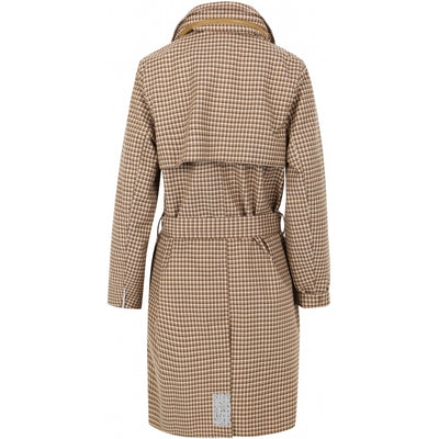 BRGN by Lunde & Gaundal Yr Coat Coats 180 Brown Plaid