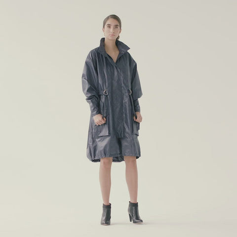 Dusk Coat - Indigo Mood