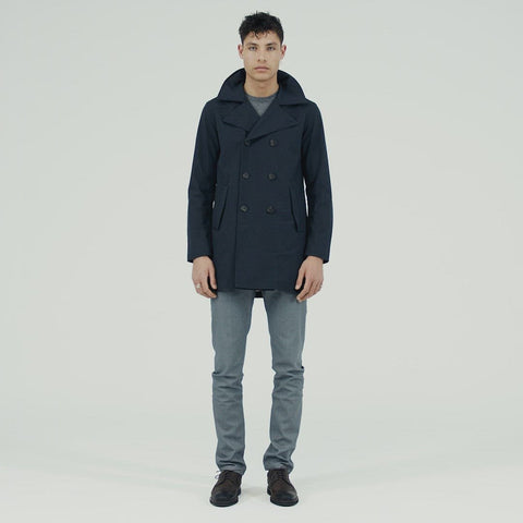 Hagl Coat - Dark Navy