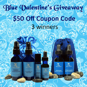 Blue Valentine's Giveaway 2016