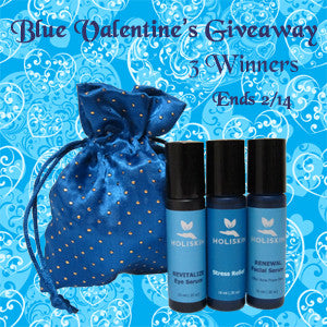 Blue Valentine's Giveaway