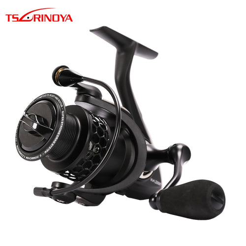 TSURINOYA NA 2000 3000 3000 4000 5000 9BB 5.2:1 Grae Ratio Saltwater Fishing Reels Lightweight Spinning Fishing Reel - Discount Fishing Tackle