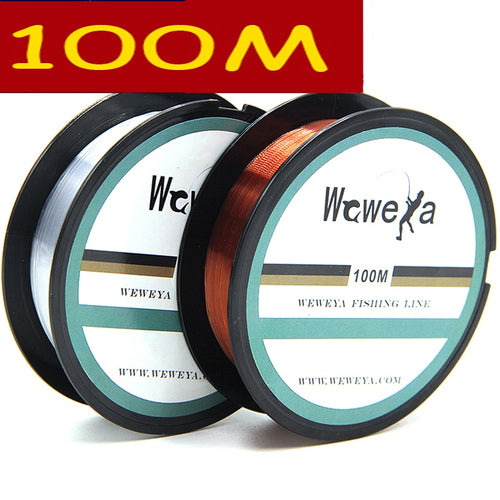 Leo 2017 100M Fluorocarbon Fishing Lines Strong Nylon Monofilament Fishing Line Reservoir Pond Stream Fishing - Discount Fishing Tackle