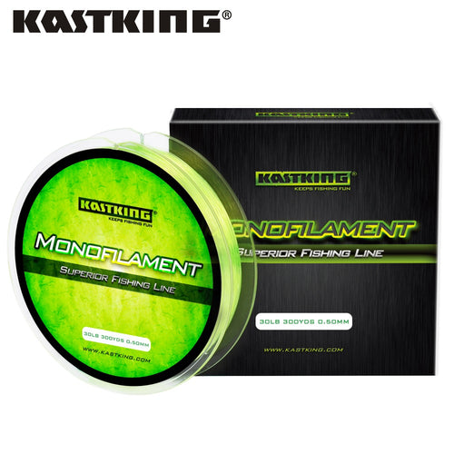 KastKing 275M Nylon Fishing Lline 0.2-0.5mm Saltwater and Freshwater Monofilament Line Premium Strong 4LB-30LB - Discount Fishing Tackle