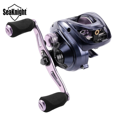 SeaKnight 2018 NEW SNIPER Full Metal Baitcasting Reel 7.2:1 High Speed Anti-corrosion Fishing Reel 11KG Fishing Tackle Saltwater - Discount Fishing Tackle