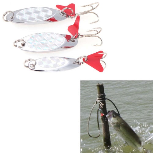 Lixada 15g/11g/7g Metal Spoon Lure Fishing Lure Hard Lure Spoon Baits Pesca Peche Tackle Wobblers Isca Artificial - Discount Fishing Tackle