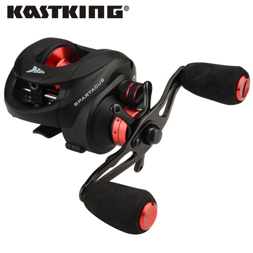 KastKing Spartacus Max 8kg Drag Baitcasting Reel 12 BBs Dual Brake System Lure Fishing Reel for Saltwater Fishing - Discount Fishing Tackle