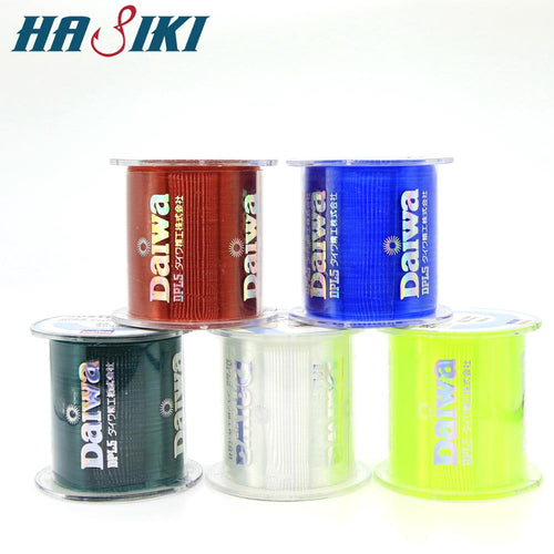 HASIKI 500M Super Strong  Daiwa Fishing Line Nylon Monofilament Fishing Line 5 Colors #0.4-#8.0 - Discount Fishing Tackle