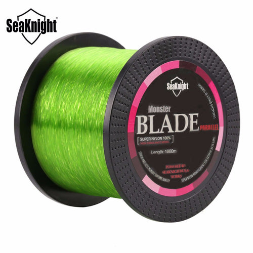 SeaKnight Brand BLADE Series 500M 1000M Nylon Fishing Line Monofilament Japan Material Super Strong Carp Fishing Line 2-35LB - Discount Fishing Tackle