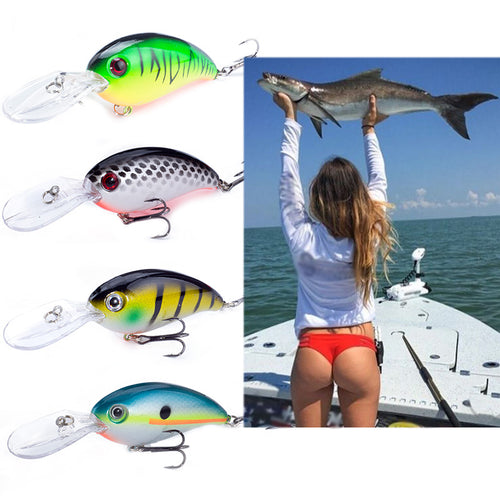 SEALURER Brand Big Wobbler Fishing lures 10cm14g sea trolling minnow artificial bait carp peche crankbait pesca jerkbait - Discount Fishing Tackle