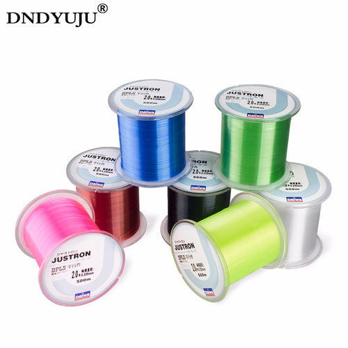 DNDYUJU 500M Strong Quality Nylon Fishing Line Monofilament Japanese Durable Daiwa Line All Size 0.4 To 8.0 - Discount Fishing Tackle