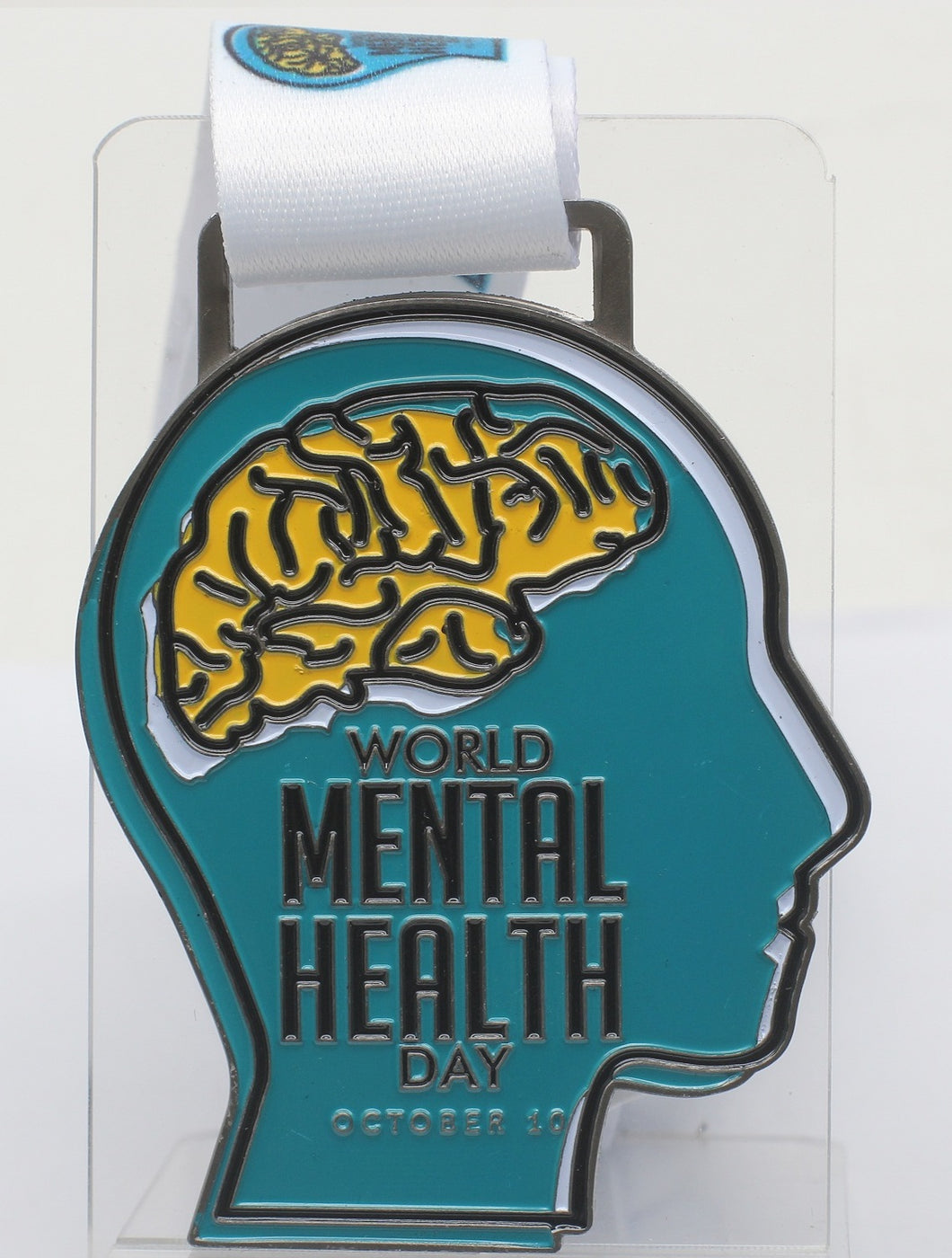 World Mental Health Day Challenge - 1 Mile, 2K, 5K, 10K, Half Marathon and Full Marathon PRE-ORDER 3-4 WEEKS