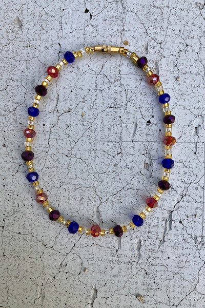 Amour Crystal Anklet