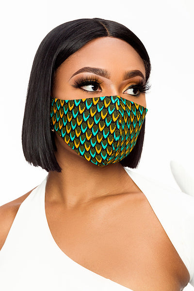 Fitted Washable Reusable Face Covering