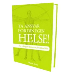 "Thomas Aksnes book in Norwegian ""Ta ansvar for din egen helse"""