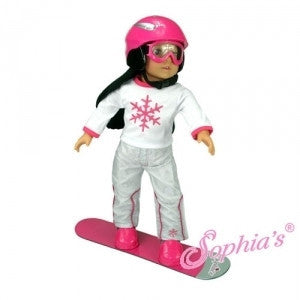 SNOW BOARD, GOGGLES, AND HELMET SET
