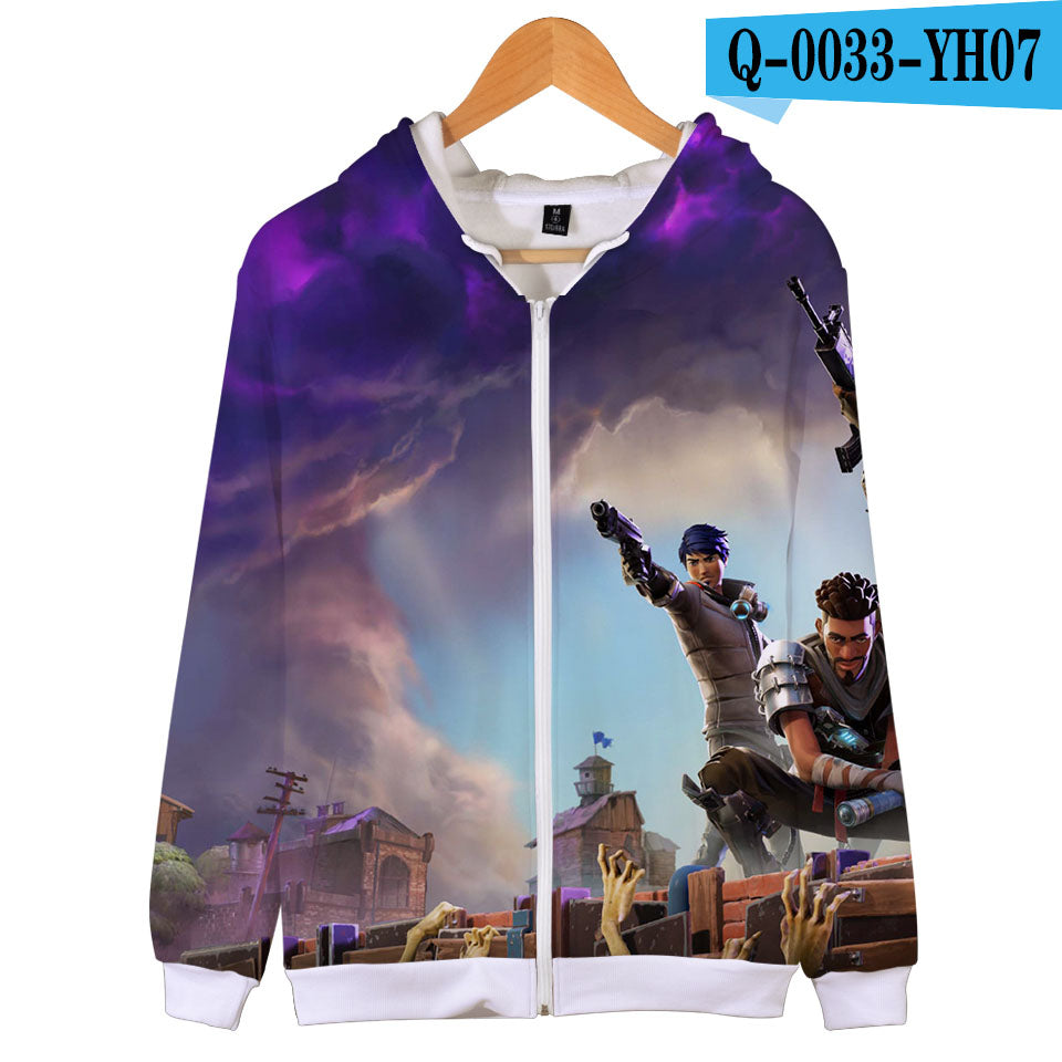 Fortnite Zipper Hoodies