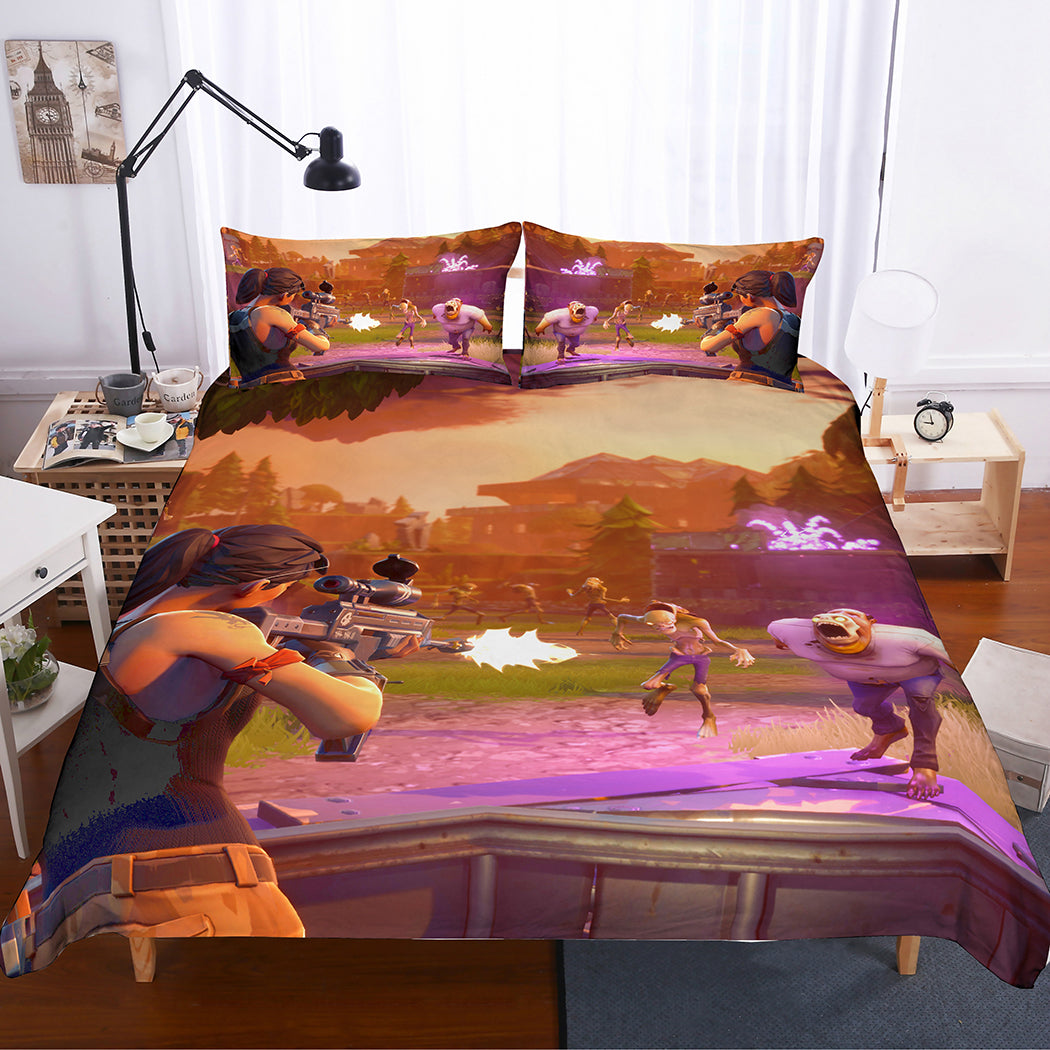 Fortnite Gamer Bedding Set