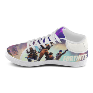 Fortnite Women Canvas Shoes - White