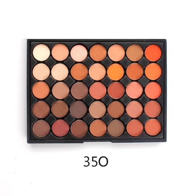 350 - 35 Color Nature Glow Eyeshadow Palette 35O