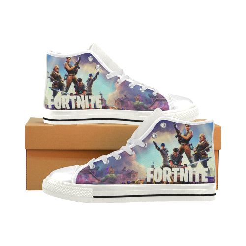 Fortnite Men high-top shoes - White