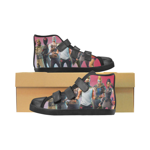 Fortnite Velcro Big Kid Shoes  - Black
