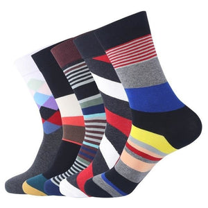 5 Pairs Gift Socks Silver