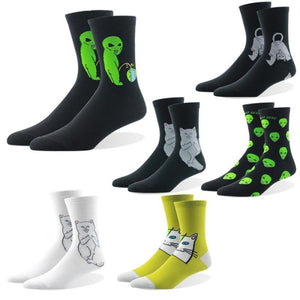 Alien Design Socks