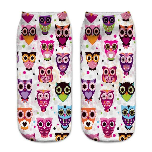 Animal Ankle Socks 11 / One Size