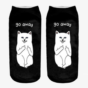 Animal Ankle Socks 3 / One Size