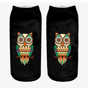 Animal Ankle Socks 6 / One Size