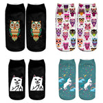 Animal Ankle Socks