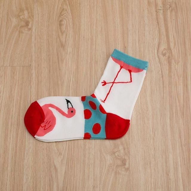 Art Socks (5 Pairs) 01 / One Size