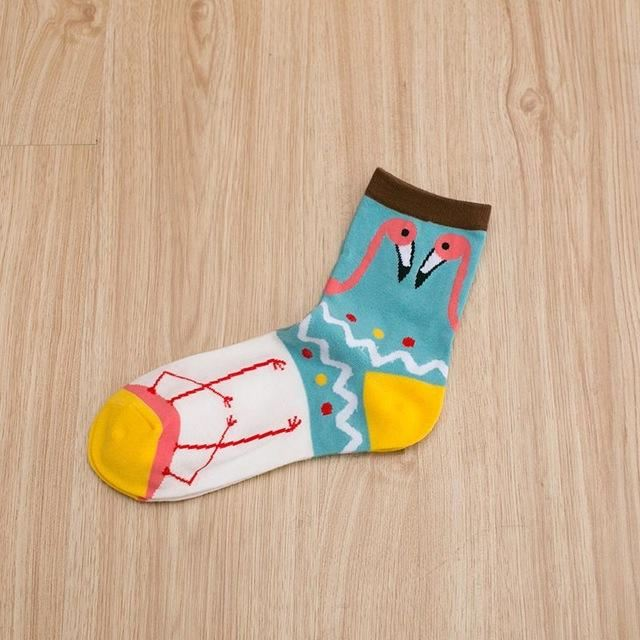 Art Socks (5 Pairs) 02 / One Size