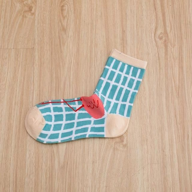 Art Socks (5 Pairs) 05 / One Size