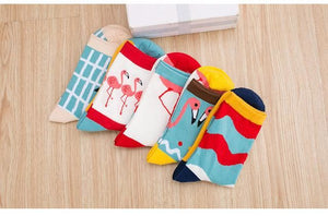Art Socks (5 Pairs) Mix Color / One Size