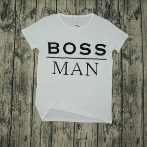 Boss Man & Lady T-Shirt Boss Man / S