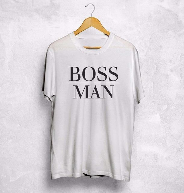 Boss Man/lady T-Shirt 1 / S