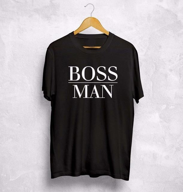 Boss Man/lady T-Shirt 3 / S