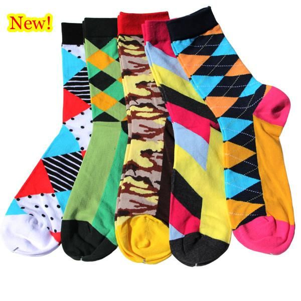 Classy Colorful Socks - 5 Pair Group17