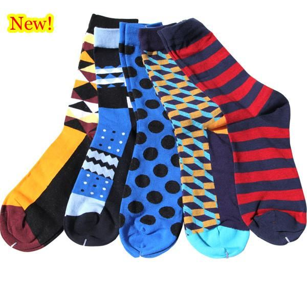 Classy Colorful Socks - 5 Pair Group18