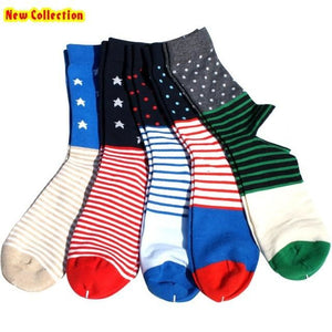 Classy Colorful Socks - 5 Pair Group23
