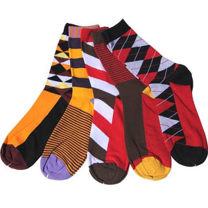 Classy Colorful Socks - 5 Pair Group4