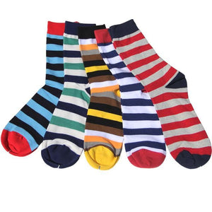Classy Colorful Socks - 5 Pair Group5