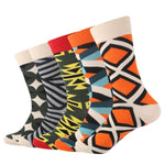 Colorful Argyle Socks - 5 Pairs
